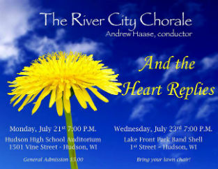The River City Chorale 6th Annual Summer Season