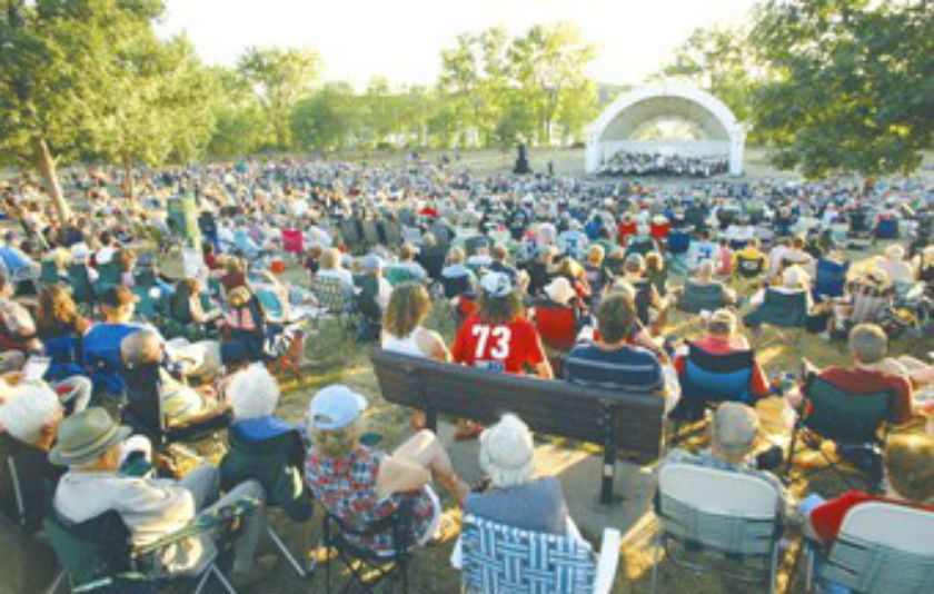 Concerts in the Park - Hudson Rock & Roll Review