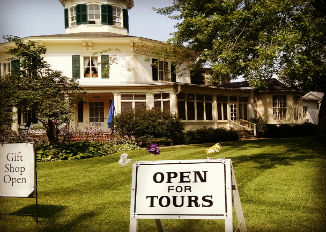 Octagon House Mother's Day Tour